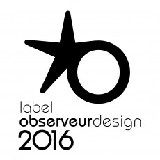 LA LYSA REÇOIT LE LABEL OBSERVEUR DU DESIGN 2016
