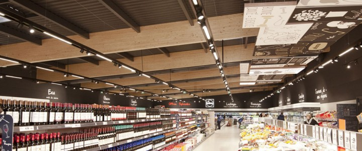 NEW 100% LED SUPERMARKET CONCEPT