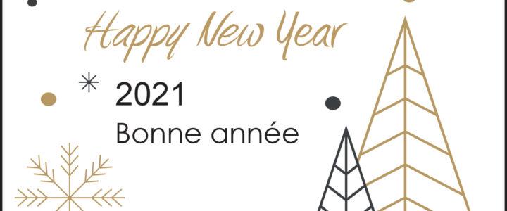 LES ÉQUIPES DE TRATO-TLV VOUS SOUHAITENT UNE TRÈS BONNE ANNÉE 2021 !